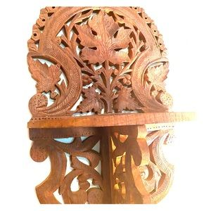Other - Vintage Carved Wooden Wall Shelf